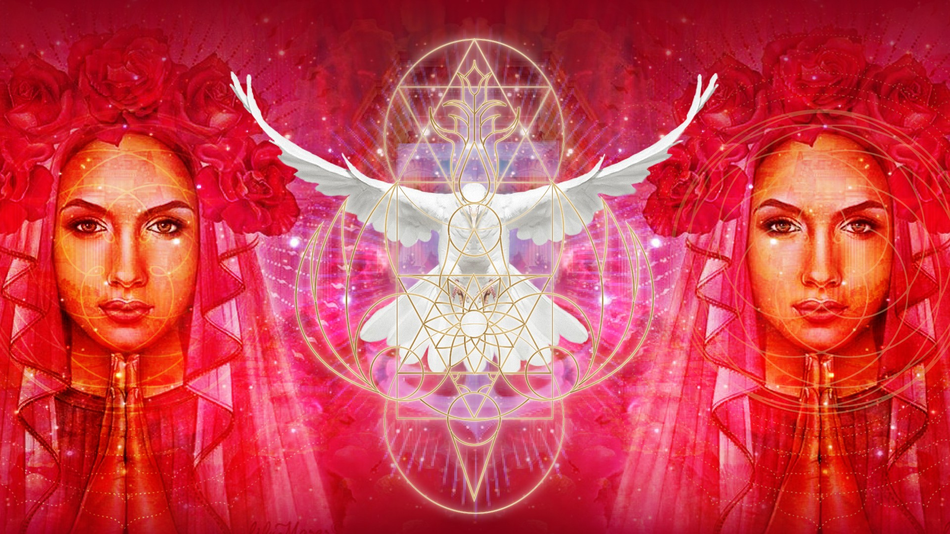 Red Rose R-Evolution - An Initiation with Mary Magdalene