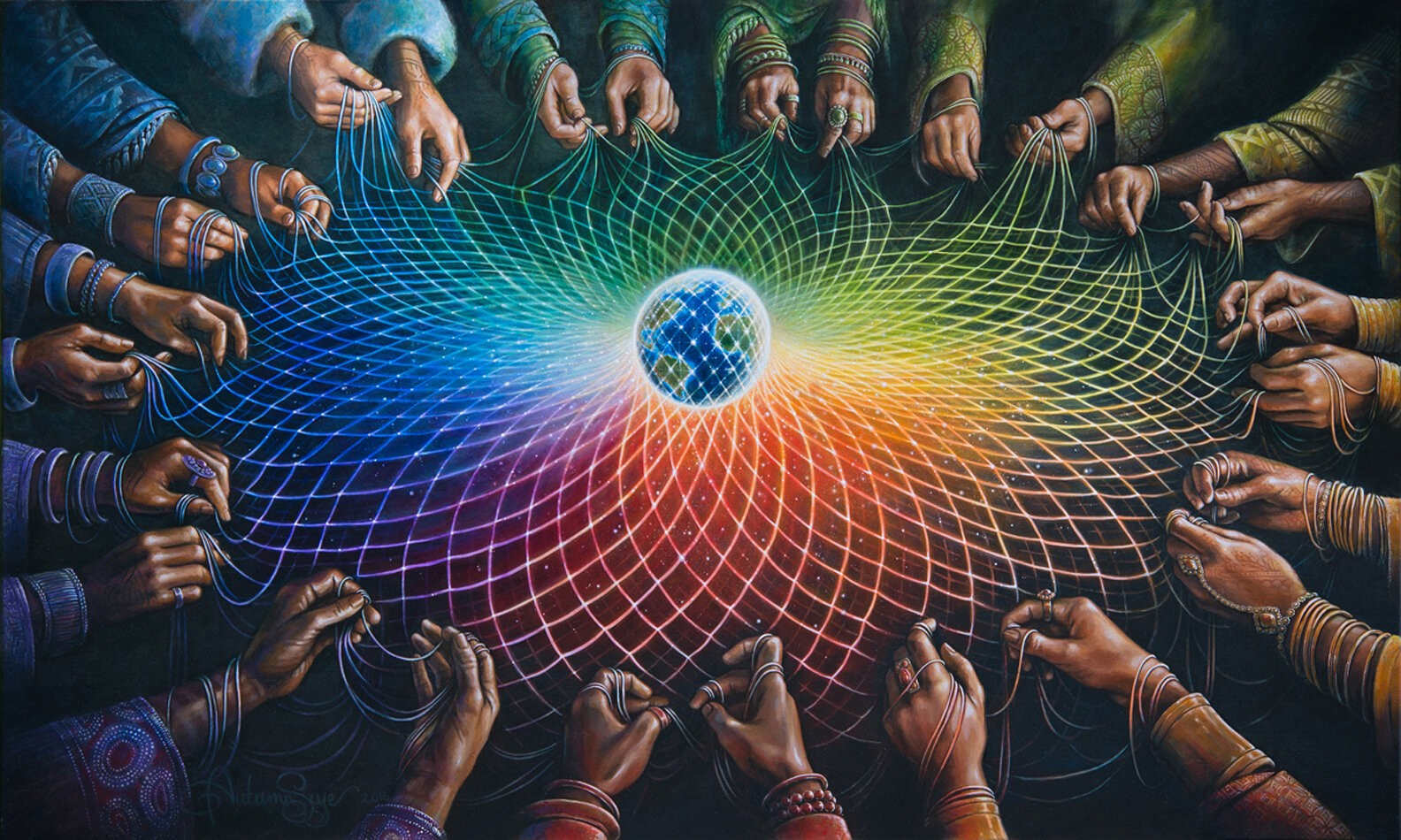Gathering The Priest-Esses of Love - A Global Healing Ceremony