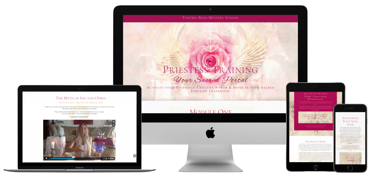 Priestess Training - A Nine Month Online Programme